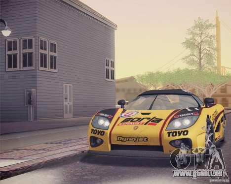 Koenigsegg CCX 2006 v2.0.0 für GTA San Andreas Räder