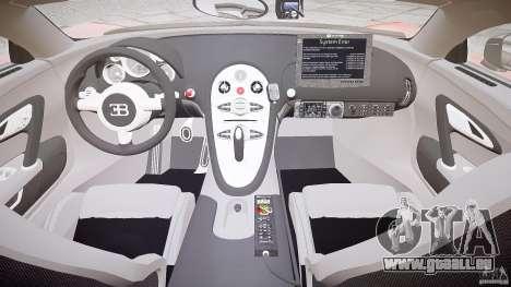 Bugatti Veyron 16.4 Police [EPM/ELS] pour GTA 4 est un droit