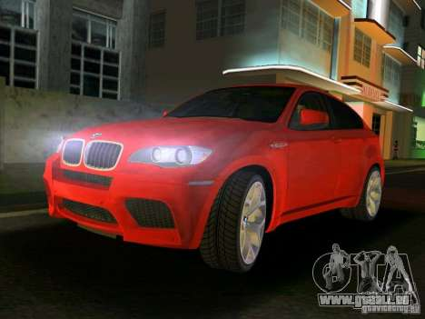 BMW X6M für GTA Vice City
