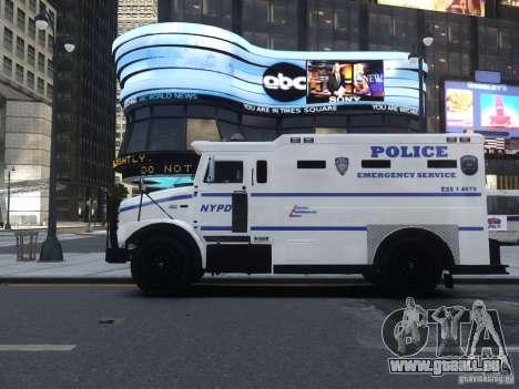 Enforcer Emergency Service NYPD für GTA 4 Rückansicht