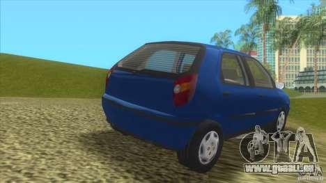 Fiat Palio für GTA Vice City zurück linke Ansicht
