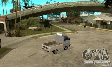 Suzuki Carry Kamyonet pour GTA San Andreas vue de droite
