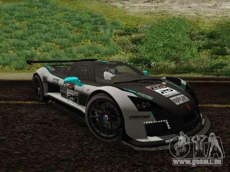 Gumpert Apollo S 2012 pour GTA San Andreas vue intérieure
