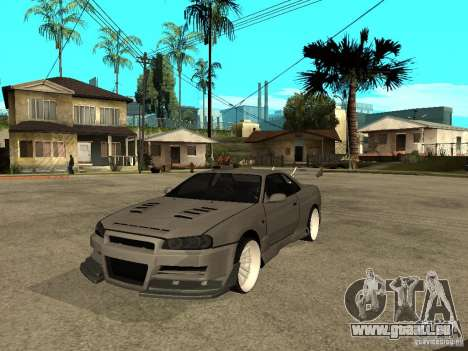 Nissan Skyline R 34 Need For Speed Carbon pour GTA San Andreas