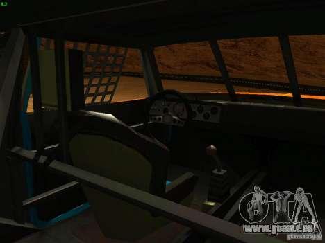 Jupiter Eagleray MK5 für GTA San Andreas Seitenansicht