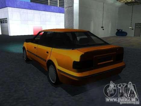Ford Sierra Mk1 Sedan pour GTA San Andreas laissé vue