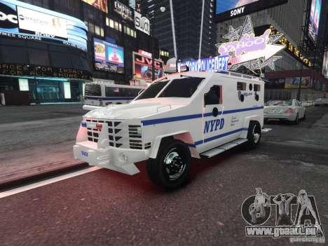 Lenco Bearcat NYPD ESU V.2 pour GTA 4