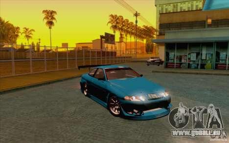 Toyota Soarer (JZZ30) pour GTA San Andreas sur la vue arrière gauche