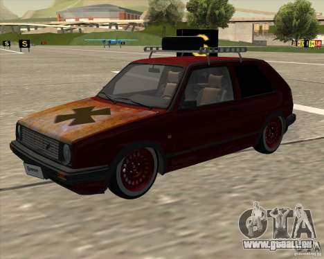 VW Golf II Shadow Crew für GTA San Andreas