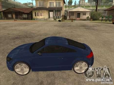 Audi TT RS 2010 pour GTA San Andreas laissé vue