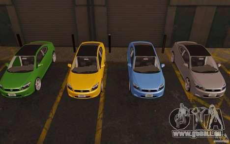 Scion tC für GTA San Andreas obere Ansicht