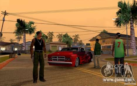 Enregistrer les infos de récupération automatiqu pour GTA San Andreas troisième écran