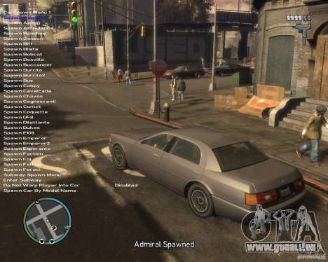 Simple Native Trainer v6.4 für GTA 4 dritte Screenshot