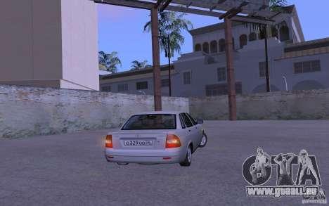 LADA Priora 2170 Etra für GTA San Andreas rechten Ansicht