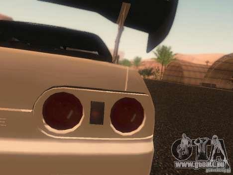Nissan Skyline GTS R32 JDM pour GTA San Andreas vue de dessus
