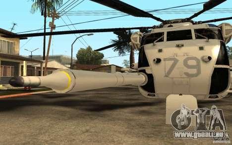 CH 53E für GTA San Andreas Innenansicht