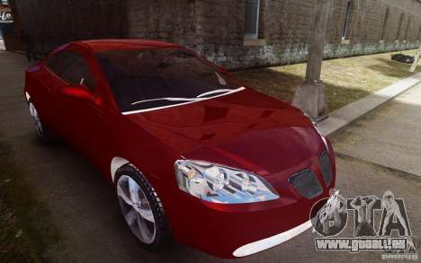 Pontiac G6 pour GTA 4 est un côté