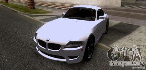 BMW Z4 M Coupe für GTA San Andreas