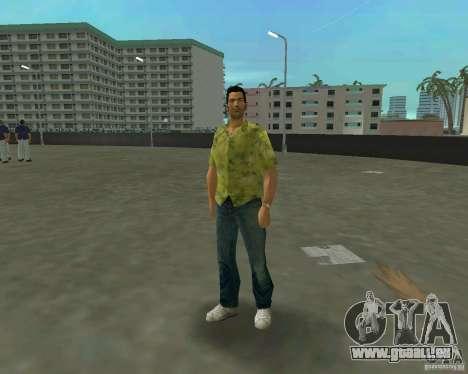 Tommy en HD + nouveau modèle GTA Vice City pour la troisième écran