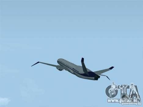 Boeing 737 Iron Man Bussines Jet für GTA San Andreas linke Ansicht