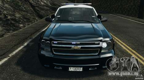Chevrolet Tahoe Marked Unit [ELS] für GTA 4 Seitenansicht