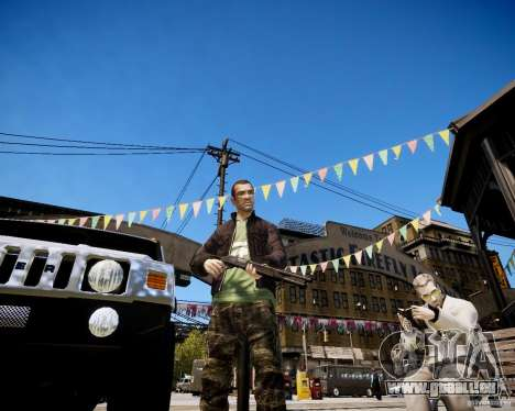 CoD Black Ops Hudson pour GTA 4 secondes d'écran