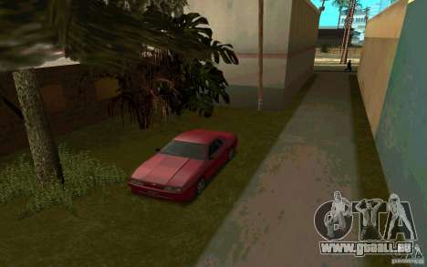 Voitures de sport près de la rue Grove pour GTA San Andreas quatrième écran