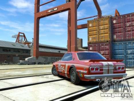 Nissan Skyline 2000 GTR pour GTA 4 est un droit