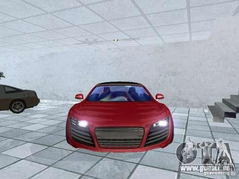 Audi Le Mans Quattro für GTA San Andreas Rückansicht