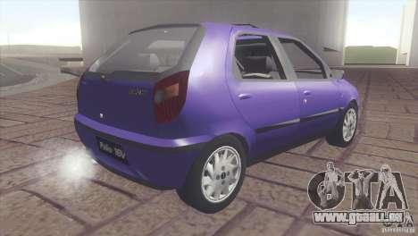 Fiat Palio 16v pour GTA San Andreas laissé vue