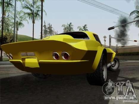 Chevrolet Corvette 1967 für GTA San Andreas linke Ansicht