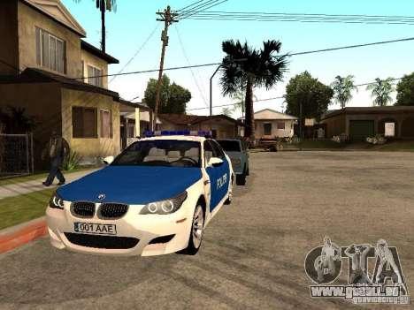 BMW 5-er Police pour GTA San Andreas