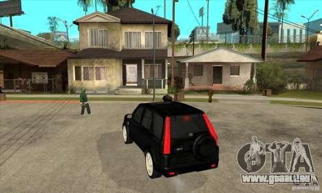 Honda CRV (MK2) pour GTA San Andreas sur la vue arrière gauche