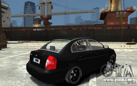Hyundai Accent 2006 für GTA 4 rechte Ansicht