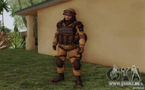 Šturomvik de Warface pour GTA San Andreas