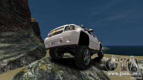Chevrolet Avalanche 4x4 Truck pour GTA 4 Vue arrière de la gauche