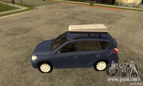 Toyota RAV4 V2 pour GTA San Andreas laissé vue