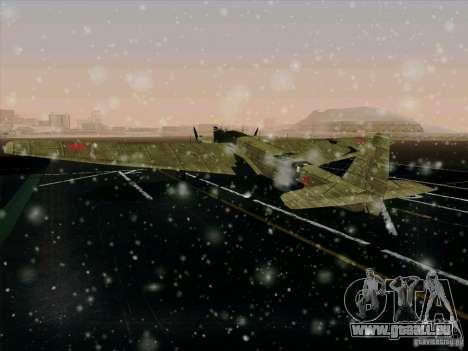 TB-3 für GTA San Andreas Innenansicht