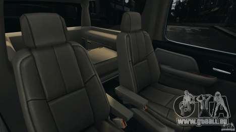 Chevrolet Suburban GMT900 2008 v1.0 pour GTA 4 vue de dessus