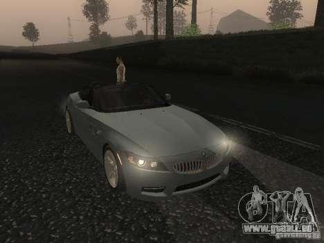 BMW Z4 für GTA San Andreas Seitenansicht
