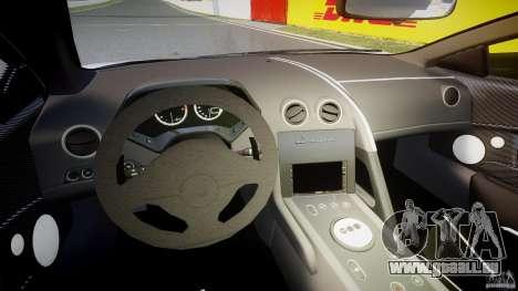 Lamborghini Murcielago LP670-4 SuperVeloce pour GTA 4 Vue arrière