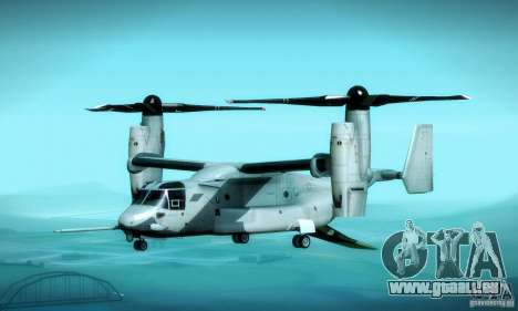 MV-22 Osprey für GTA San Andreas