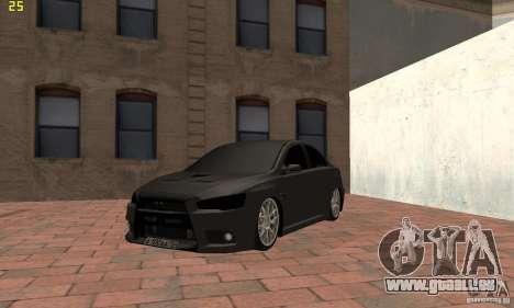 Mitsubishi Lancer Evolution Dag Style pour GTA San Andreas