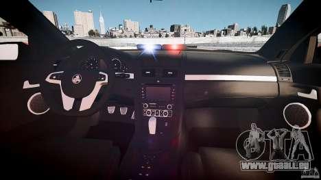 Holden Commodore SS (FBINOoSE) für GTA 4 rechte Ansicht