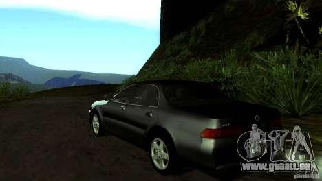 Toyota Carina ED ST202 für GTA San Andreas zurück linke Ansicht