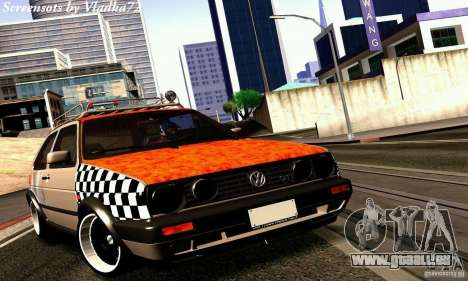 Volkswagen MK II GTI Rat Style Edition für GTA San Andreas