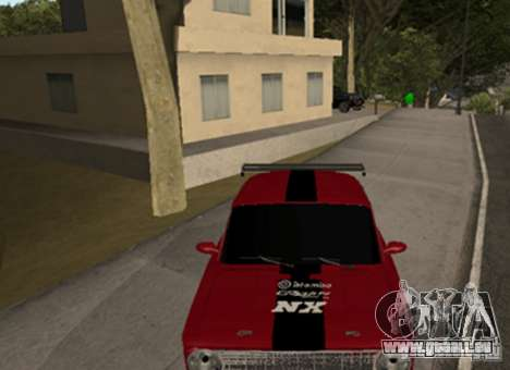 VAZ 2101 Drag pour GTA San Andreas laissé vue