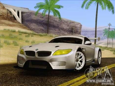 BMW Z4 E89 GT3 2010 Final pour GTA San Andreas vue de droite