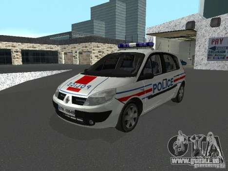 Renault Scenic II Police für GTA San Andreas