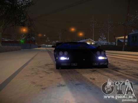 Lamborghini Countach LP5000 pour GTA San Andreas vue de côté
